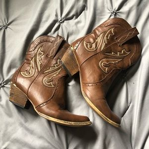 Very Volatile Cowgirl Booties